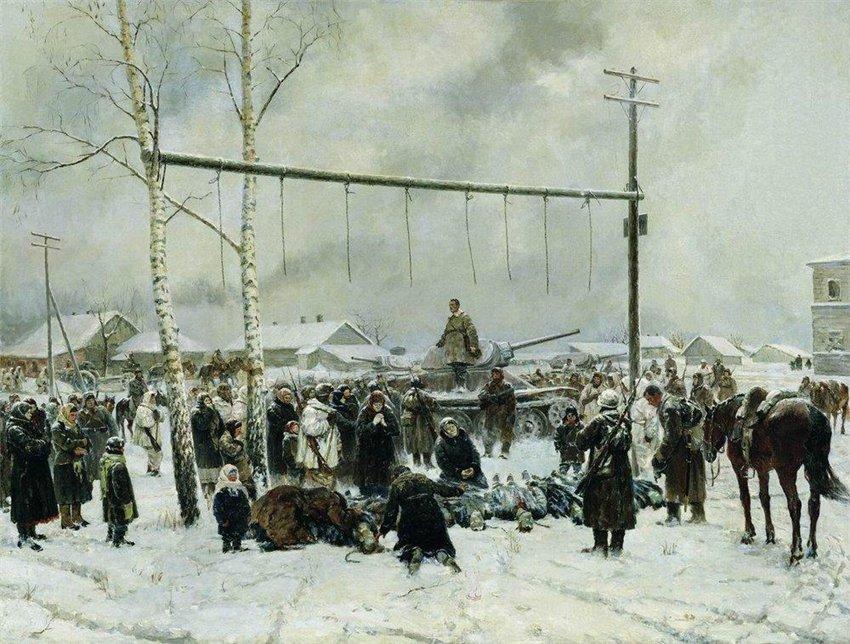Petr Krivonogov - Atrocities in Rechitsa